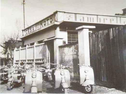 L'officina Papurello a metà del secolo scorso